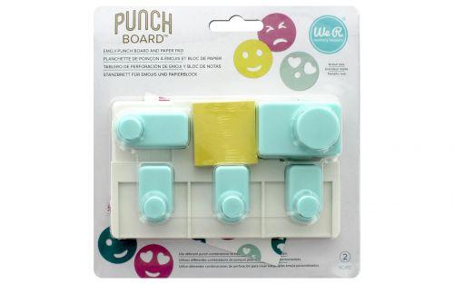We R Memory Keepers - Emoji Punch Board
