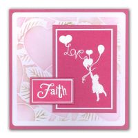 Word Chain 06 - Hope Unmounted Clear Stamp Set